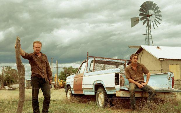 Tanner und Toby Howard auf ihrer geerbten Ranch.