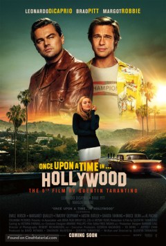 Filmposter Once Upon a Time in Hollywood
