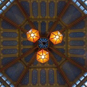 Die Sternenkuppel des Leadenhall Market.