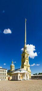 Die Peter-und-Paul-Kathedrale.