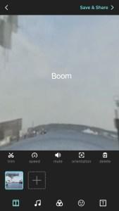 Screenschot der App VeeR
