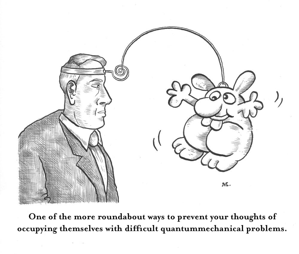 quantum mechanics « Cartoons
