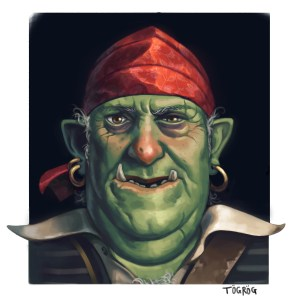 illustration personnage orc