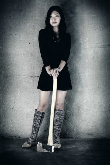 portrait of an axe. Los Angeles, 2006