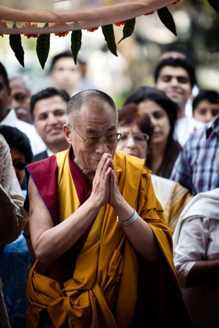 Dalai Lama. Pune, 2009