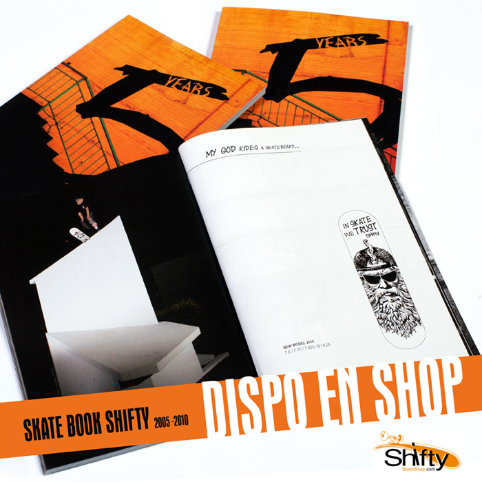 Shifty skate book 2005-2010 available