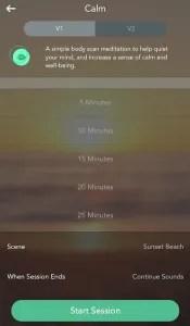 Calm Screen