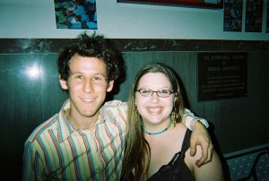 I took this photo of Ben Lee with Jessie after he opened for Dashboard Confessional in April of 2006.