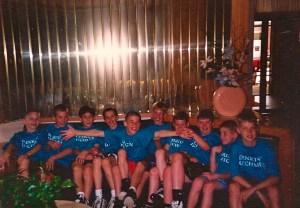 The Dunkin' Dutchmen (I am on the left)