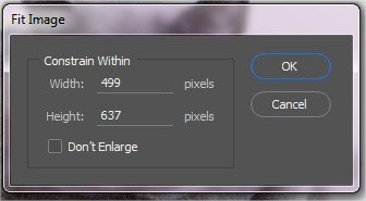 Photoshop Batch resize images to fit into fixed dimension 10