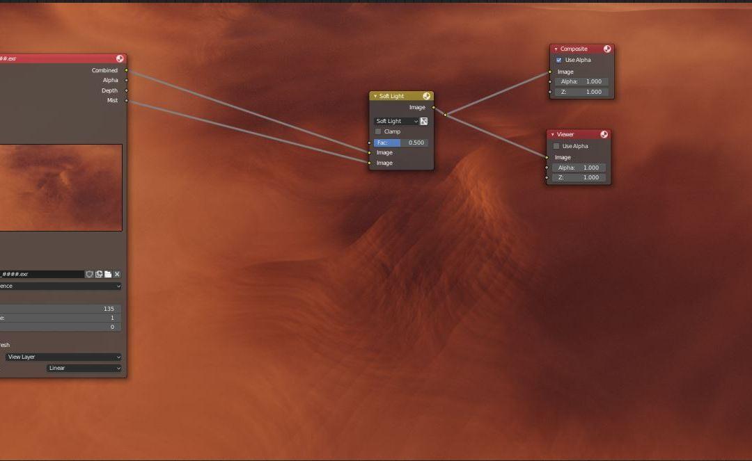 Blender Smoke Simulation: Creating Windblown Dunes