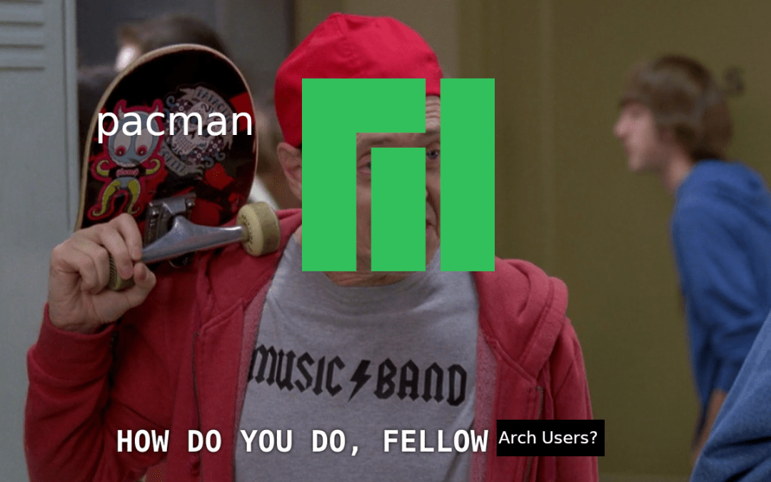 Switching from Windows to Manjaro Linux