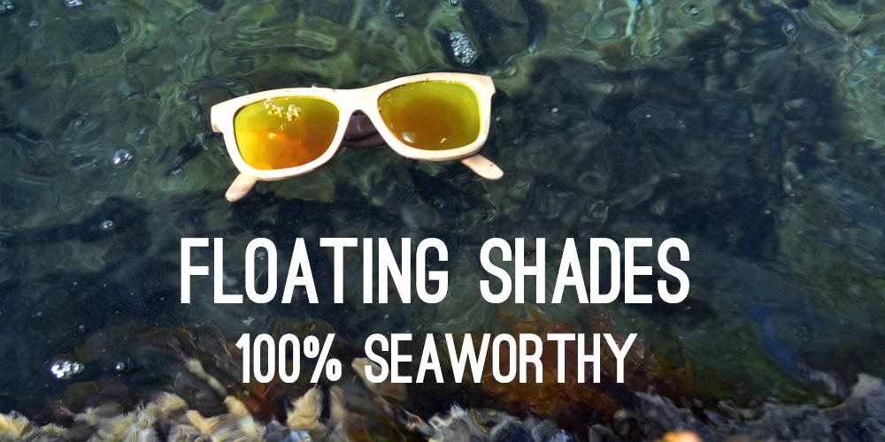 Floating sunglasses
