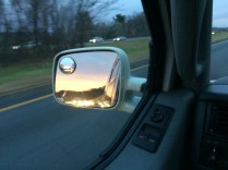 Colors in the rearview on 495 south