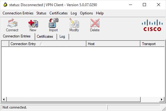 Cisco VPN Error 27850