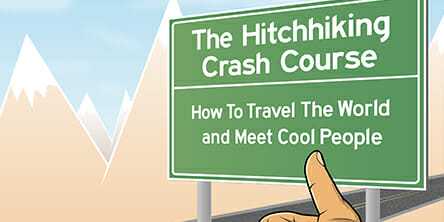 Book Cover/Review: The Hitchhiking Crash Course by Matt Forney