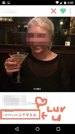 Tinder alcoholic 2