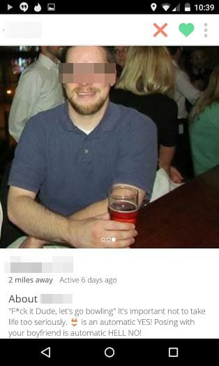 Tinder Herb With Beer