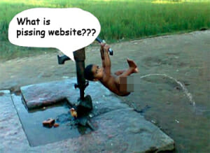what is pissing website