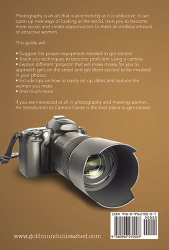 Intro To Camera Game Back Cover