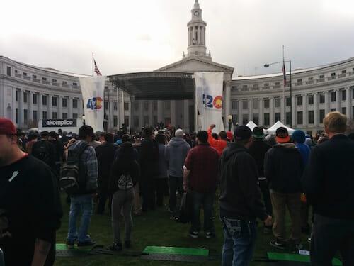 2015 Denver Colorado 420 Rally