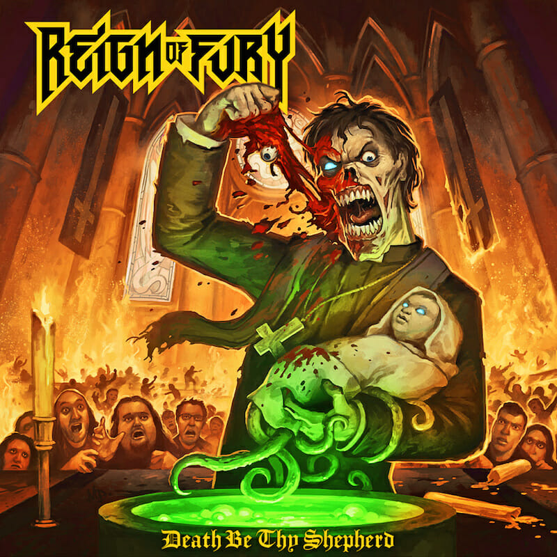 reign of fury death be thy shepherd album cover