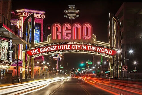 Reno Nevada The Biggest Little City In The World