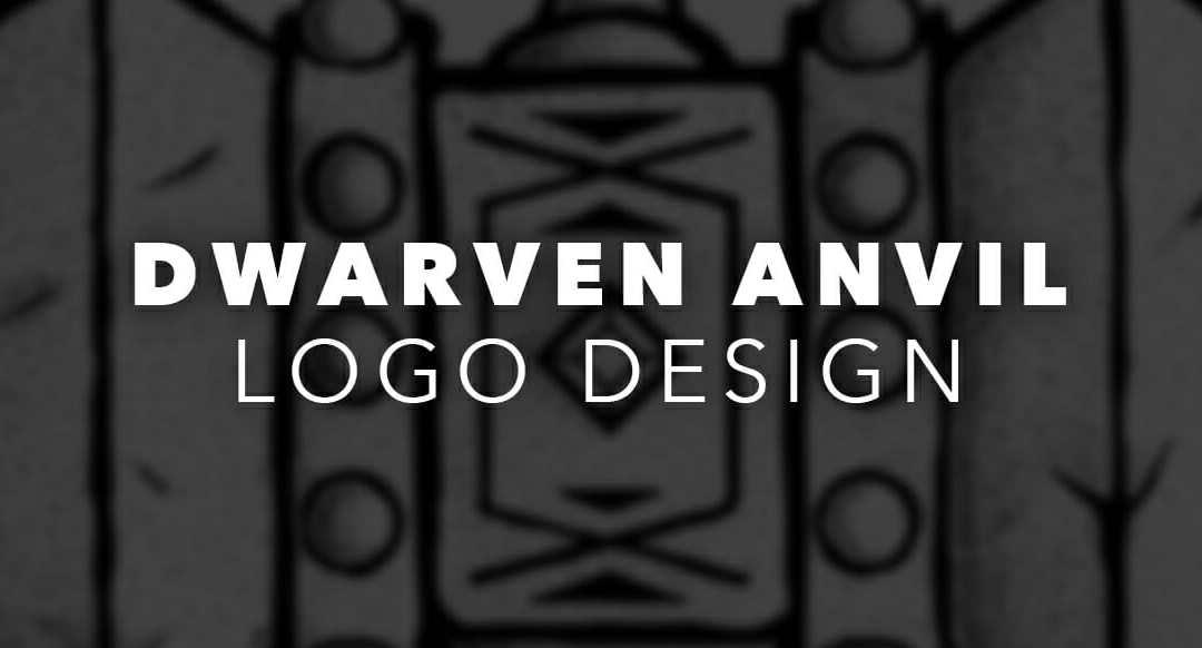 Dwarven Anvil Logo Design Matt Lawrence Art