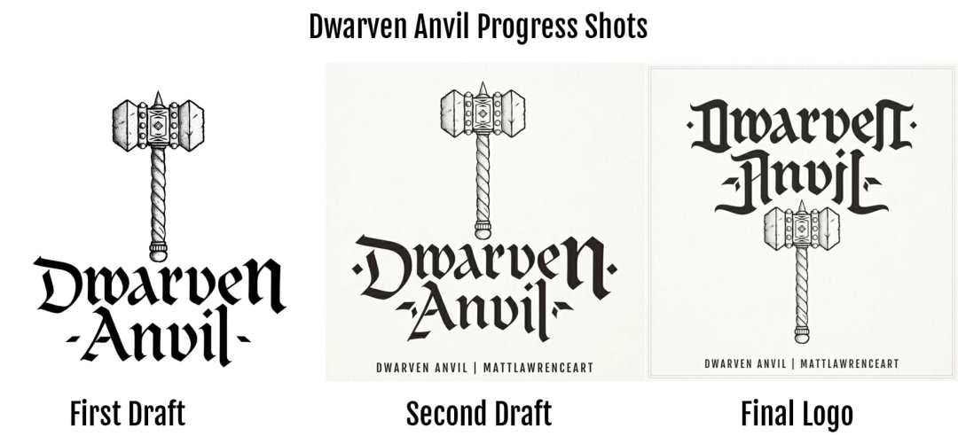Dwarven Anvil Progress