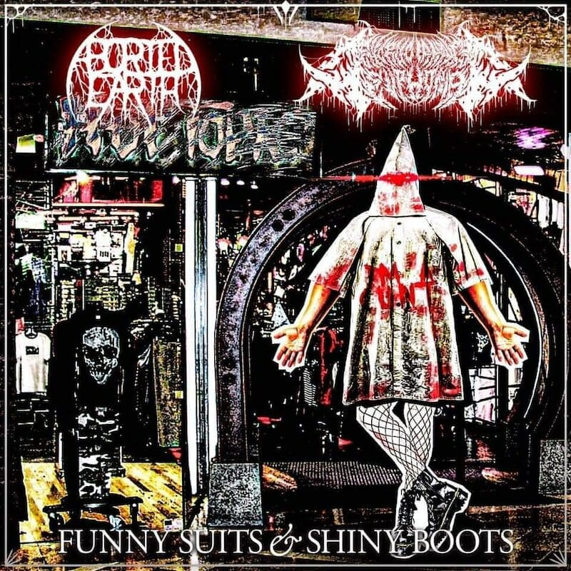 Aborted earth excruciating euphoria funny suits and shiny boots album cover
