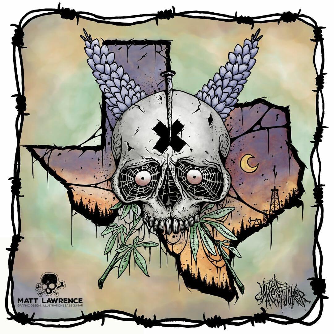 Texas skull