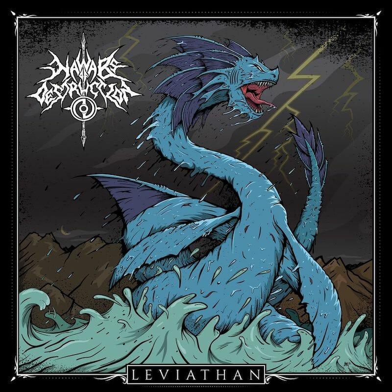 Nawabs of Destruction Leviathan Album Art
