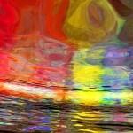 Abstract art: Strange Horizons