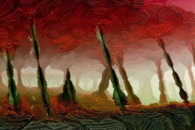 fractal art Cavern