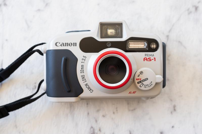 Canon Prima AS-1 underwater camera review