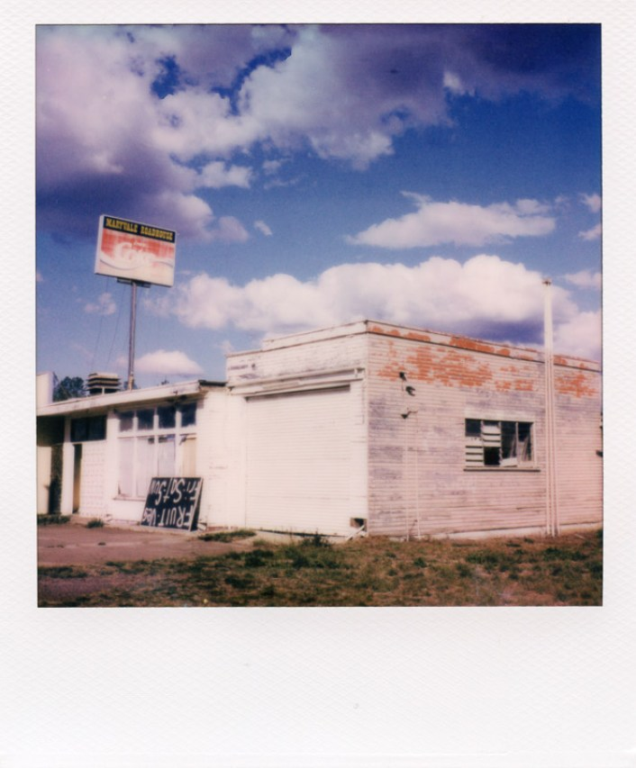 Polaroid road trip Australia