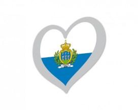 San Marino Eurovision flag