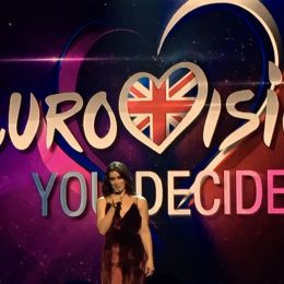 "Eurovision: You Decide at Hammersmith Apollo - Lucie Jones singing ""Never Give Up on You"""