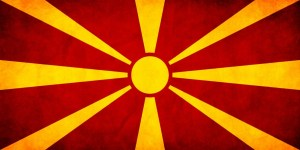 Flag of F.Y.R. Macedonia