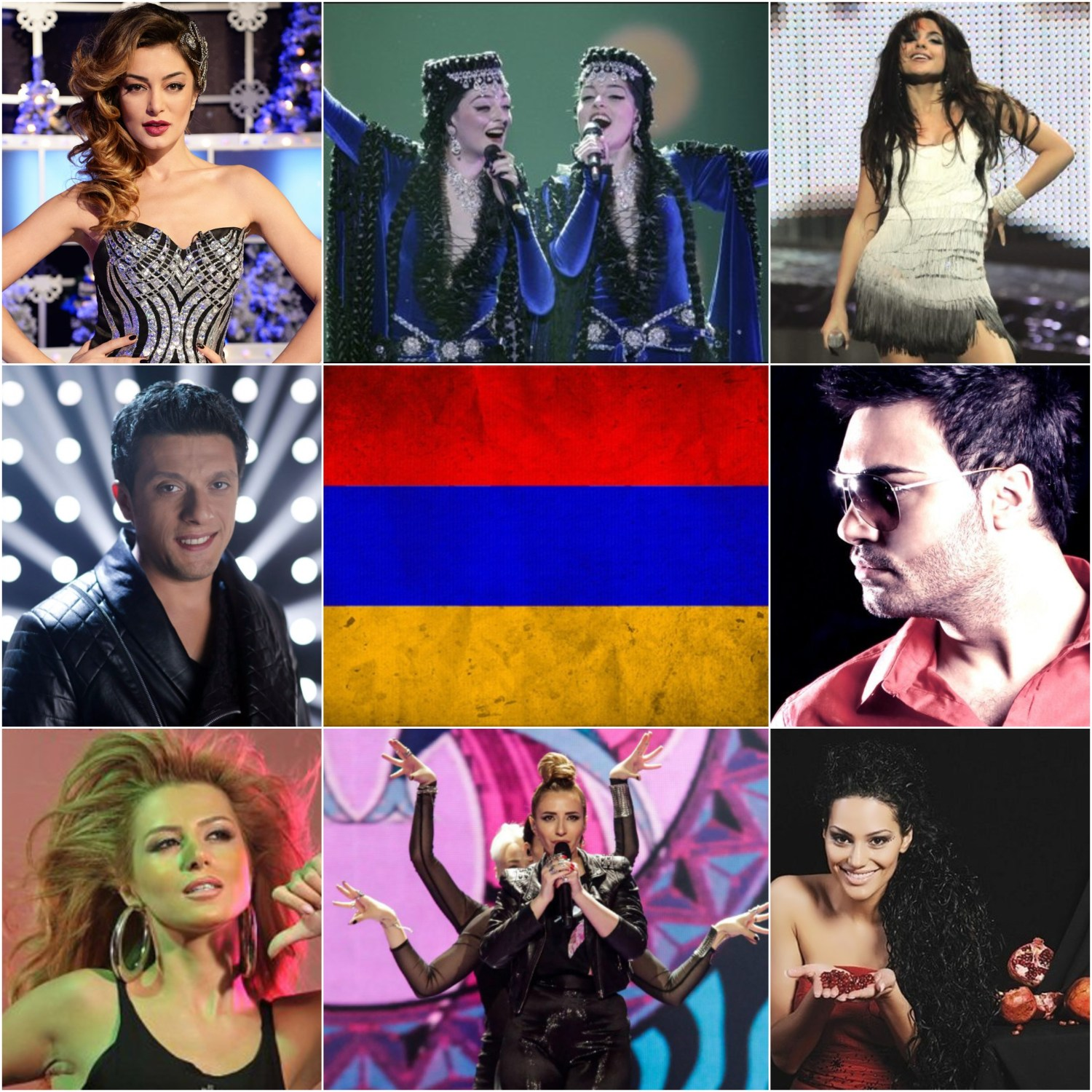 Top Eurovision entries of Armenia