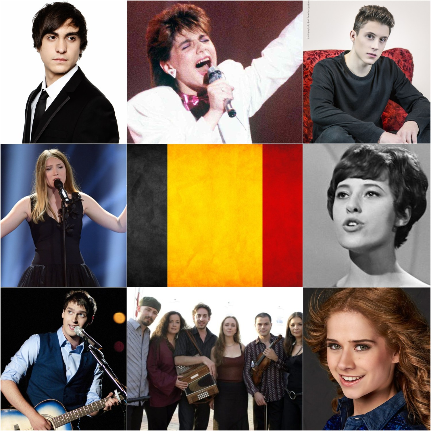 Top Eurovision entries from Belgium