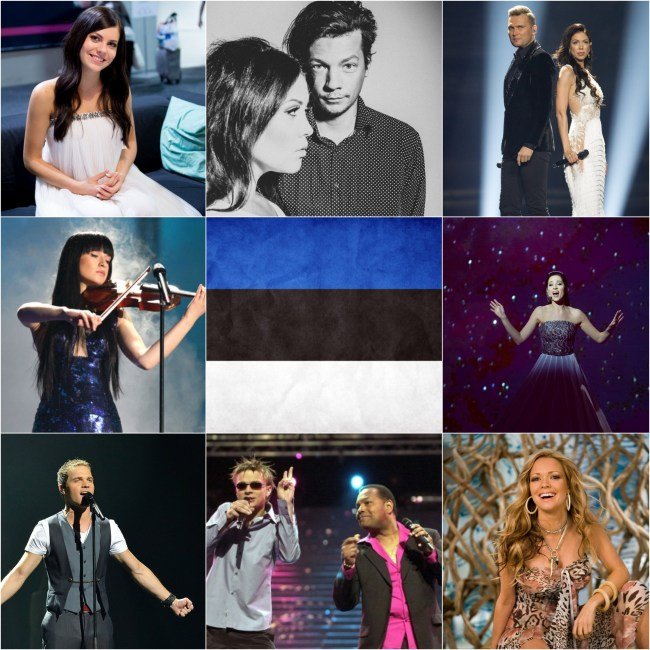 Top Eurovision entries from Estonia
