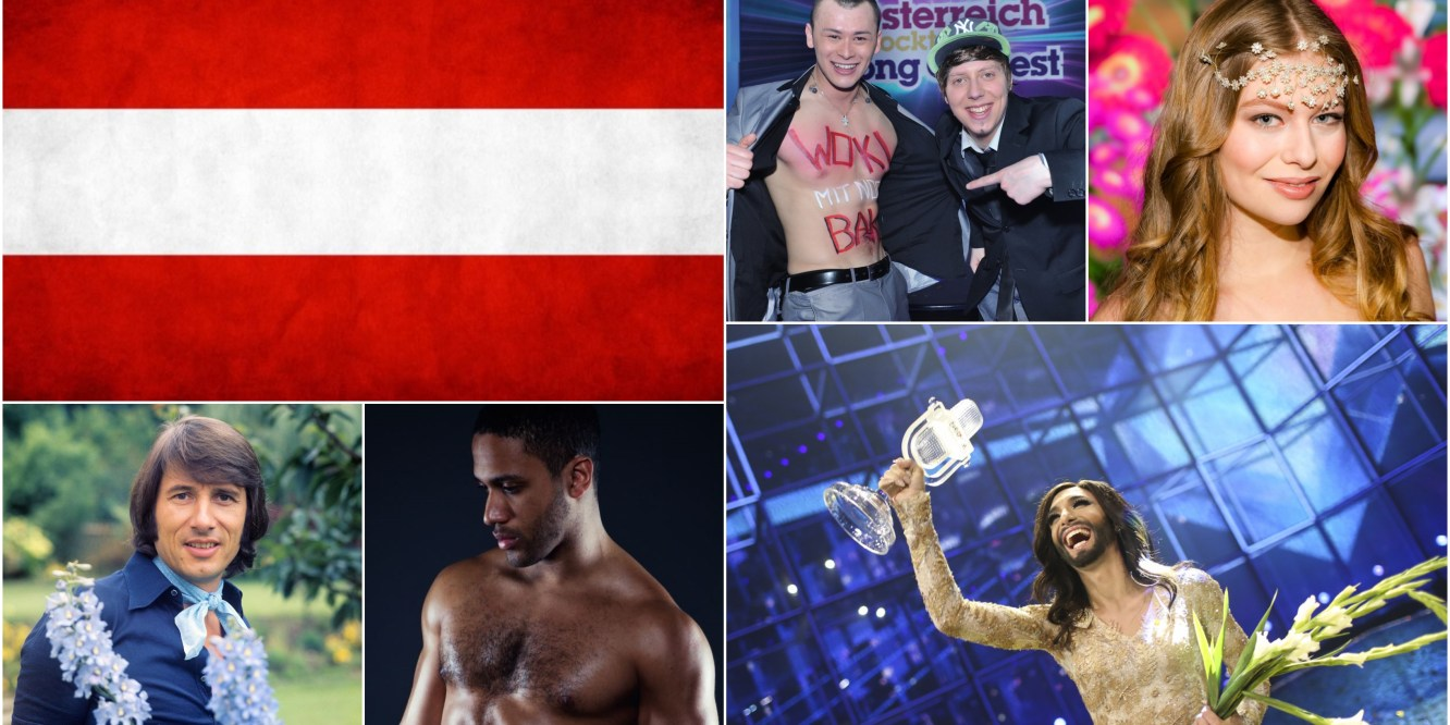 Top 5 Eurovision songs from Austria