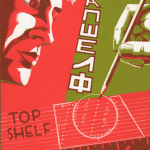 Forgotten Art: my cover for Top Shelf 6 (1998)