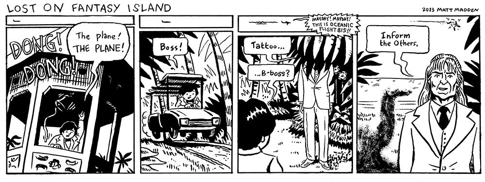 Lost on Fantasy Island (2012)