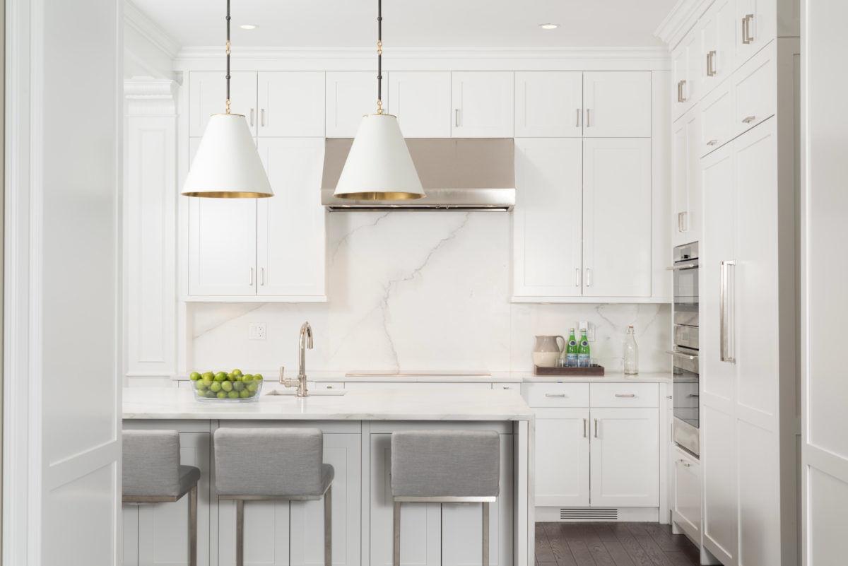 High end luxury kitchen in Uptown Chicago