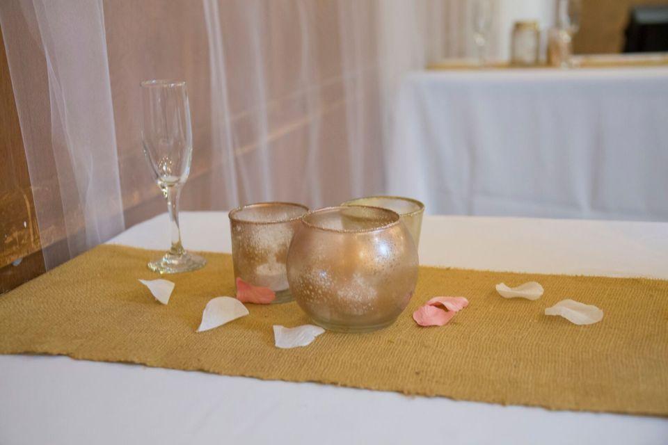 spirit pittsburgh pa wedding decor on table photo