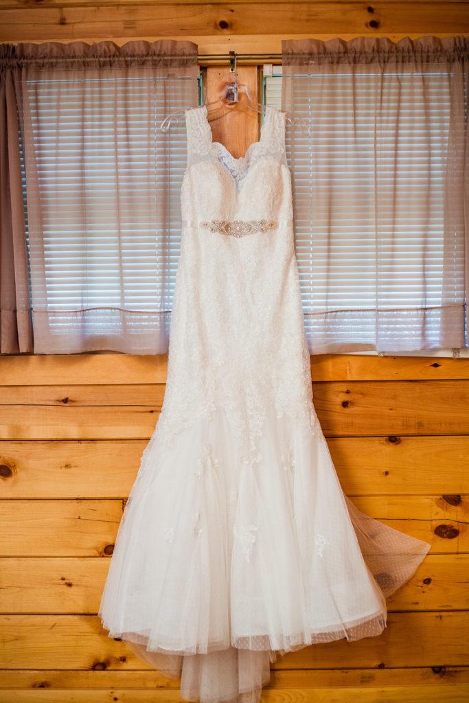second photographer's photo of wedding dress