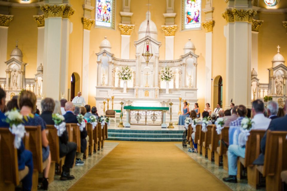 A St. Patrick's Church wedding