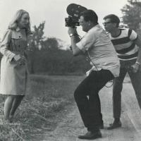 Behind the scenes pics and George Romero quotes for Night of the Living Dead (1968)